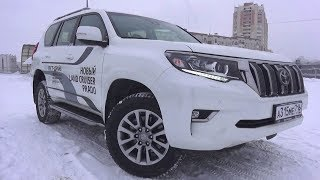 2018 Toyota Land Cruiser Prado. Start Up, Engine, And In Depth Tour.