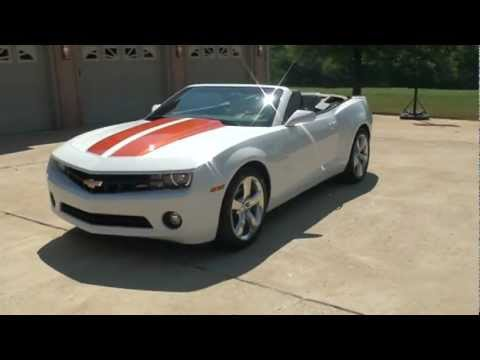 2011 Camaro For Sale >> 2011 CHEVROLET CAMARO 1LT CONVERTIBLE 3 6L V6 RS FOR SALE SEE WWW SUNSETMILAN COM - YouTube