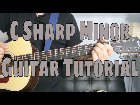 How to Play a C Sharp Minor Chord (Chord Guitar Tutorial!!)
