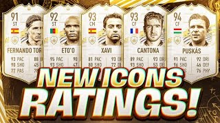 WOW! ALL NEW FIFA 21 ICON PLAYER STATS! FIFA 21 Ultimate Team