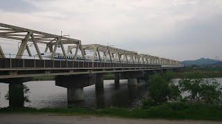 【山陽新幹線のぞみ44号】遠賀川橋梁を渡るの巻