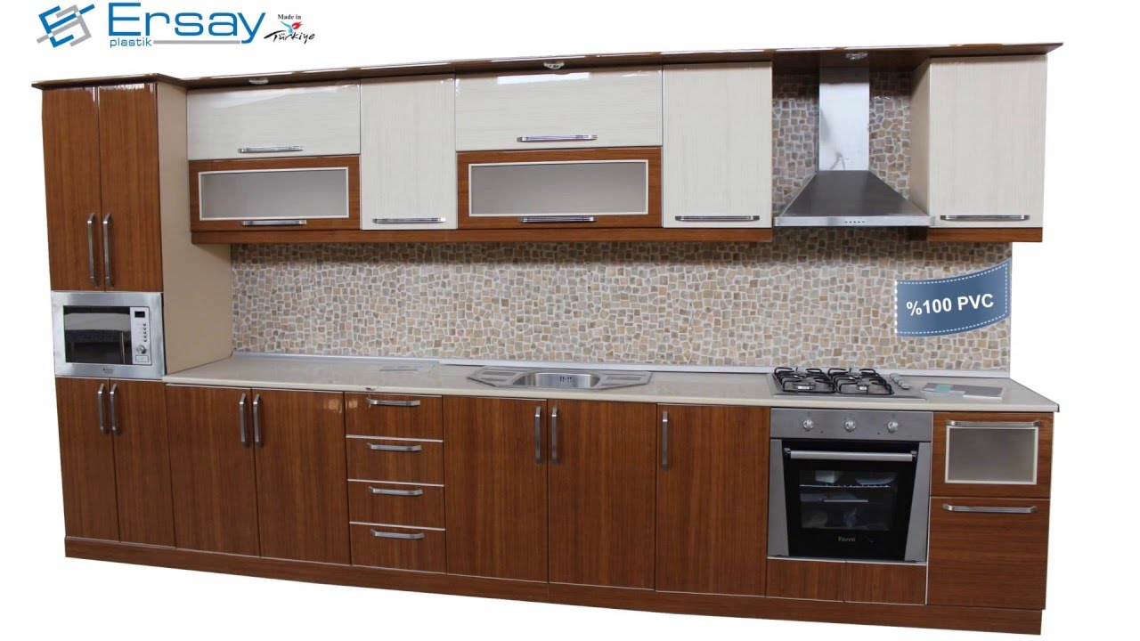 Ersay Plastik Pvc Profiles For Kitchen Cabinets