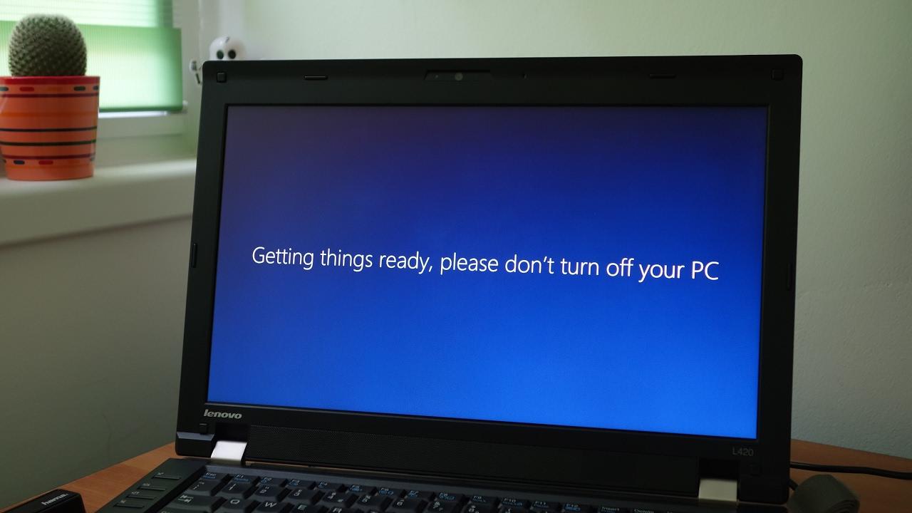 Windows 10 upgrade on Lenovo L420