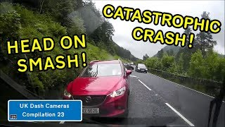 UK Dash Cameras - Compilation 23 - Bad Drivers, Crashes + Close Calls