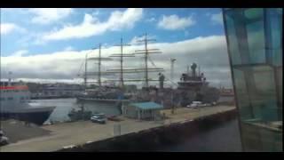 """Парусник """"Крузенштерн"""" протаранил два корабля"""