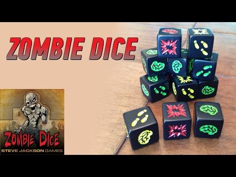 Геймплей #59 - Zombie Dice (Зомби Кубики)