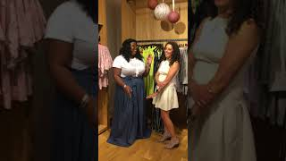 Kyla Jade at Curves with Purpose Pop-Up Shop