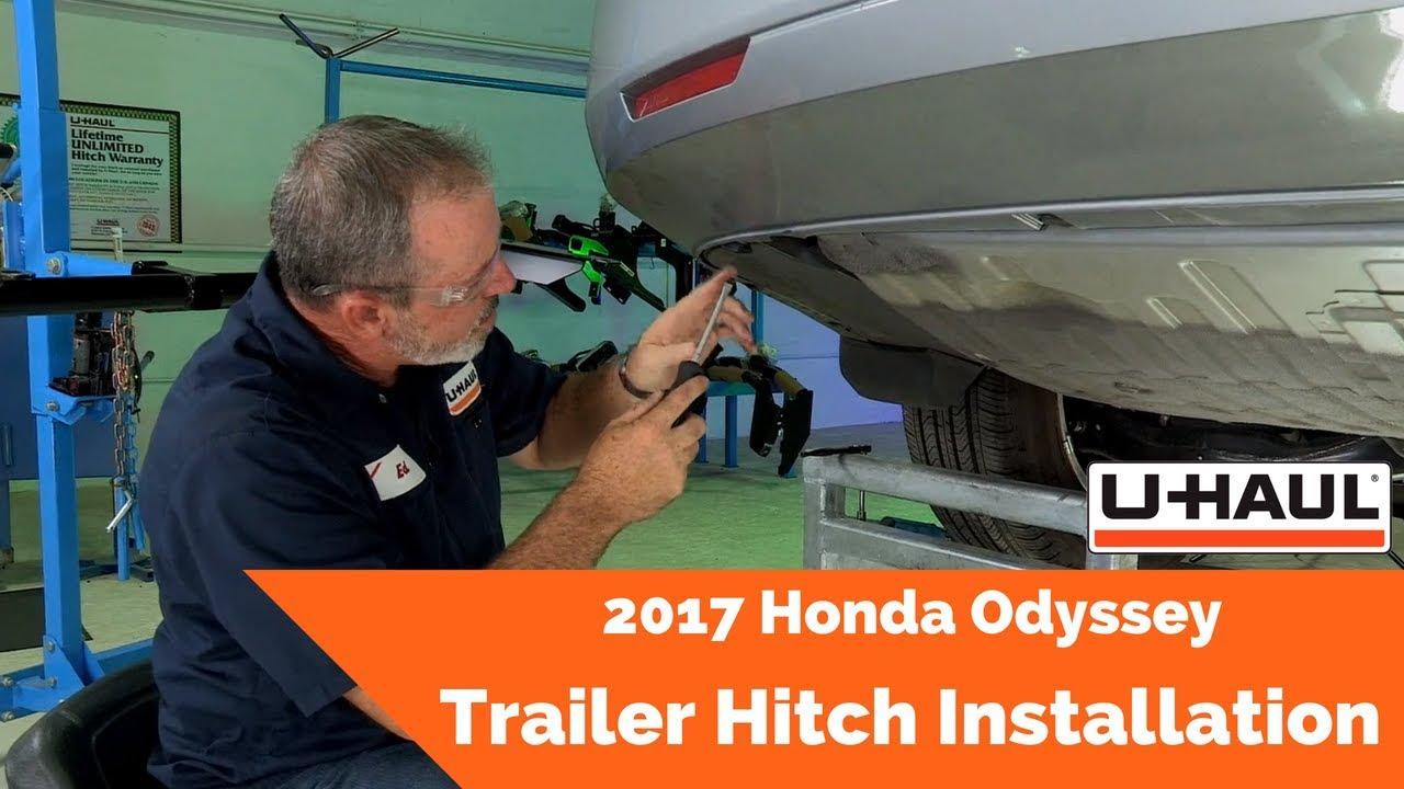 2017 Honda Odyssey Trailer Hitch