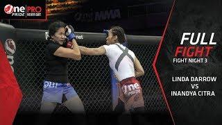 [HD] Linda Darrow vs Inandya Citra | One Pride MMA 3