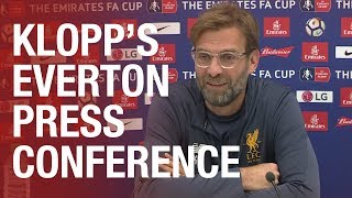 Jürgen Klopp's pre-Everton FA Cup press conference | Confirmed team news ahead of the derby