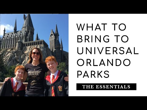 MY UNIVERSAL BAG | What To Bring To The Universal Orlando Parks