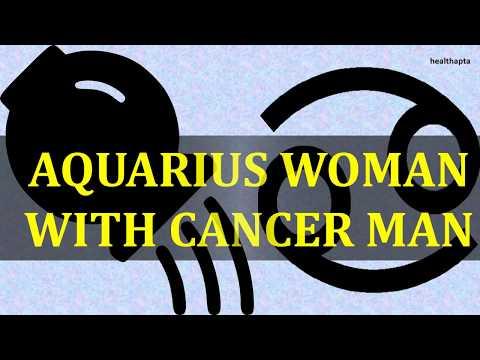AQUARIUS WOMAN WITH CANCER MAN
