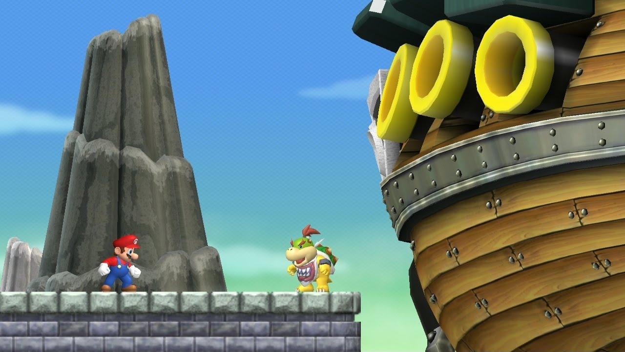 New Super Mario Bros Wii World 6 Complete Youtube