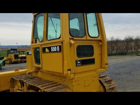 1988-john-deere-550g-bull-dozer-crawler-tractor-for-sale-walk-around-video!