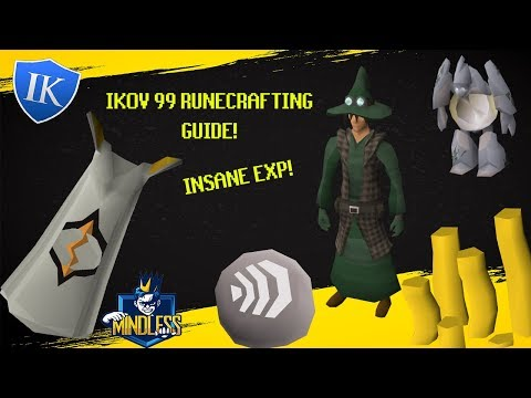 Ikov | 99 Runecrafting Guide | Insane EXP 400k+ Per Trip!