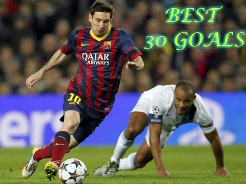 LIONEL MESSI -top 30 Goals -2004/2015
