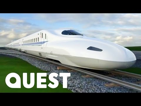 Japan's Tokaido Shinkansen Bullet Train | Mighty Trains