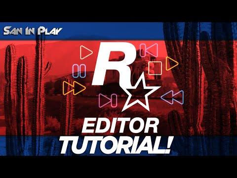 GTA V PC: COMO USAR O ROCKSTAR VÍDEO EDITOR!