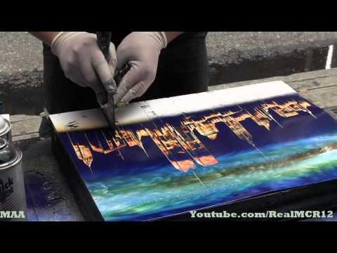 Amazing Talent - New York City Spray Paint Art