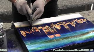 Amazing Talent - New York City Spray Paint Art