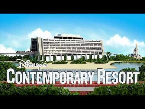 Disney's Contemporary Resort Music Loop - DisneyAvenue.com