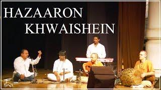Hazaaron Khwaishein - Mirza Ghalib - Rendition by Sounds of Isha