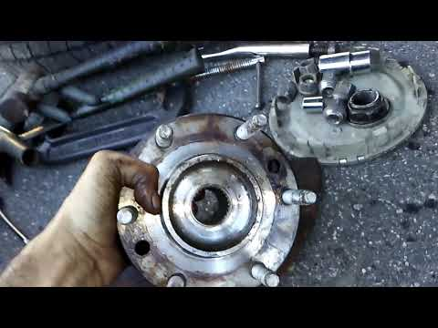 2004 Buick Rainier Front Wheel Bearing / Hub Replacement