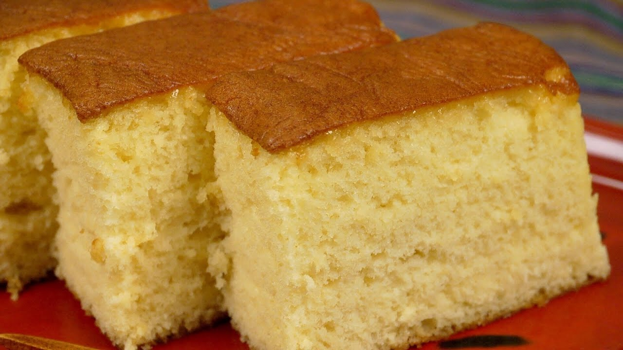 Microwave Sponge Cake No Butter