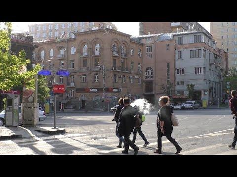 Yerevan, 08.04.18, Su, Video-1, (на рус.), ул.Вардананц - пл.Сахарова.