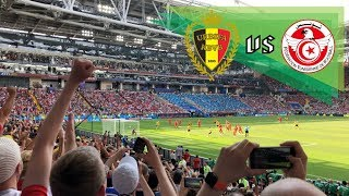 Belgium vs Tunisia 5-2   6 Minutes, PK Goal Scored by Eden Hazard - 2018 FIFA World Cup Russia