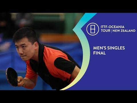 Men's Singles Final - 2018 ITTF-Oceania Tour | New Zealand