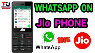 how to use whatsapp in jio phone   install whatsapp on jio phone   jio phone latest trick