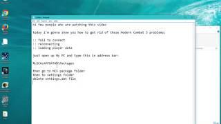 Windows 10 - Modern Combat 5 - Stuck at Loading Player Profile - FIX!!
