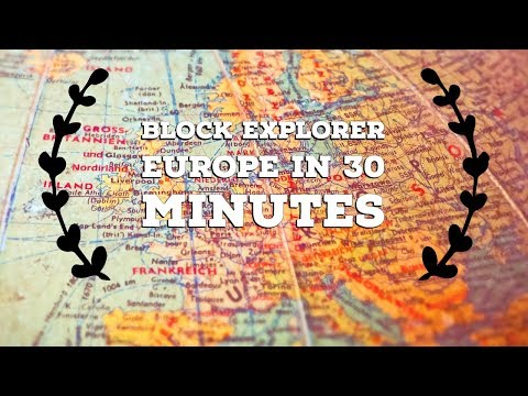 How To Travel Europe In 30 Minutes Compilation Video - Block Explorer