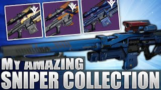 Destiny: From 0 To 10+ Amazing Snipers In A Month! (My Sniper Rifle Collection)