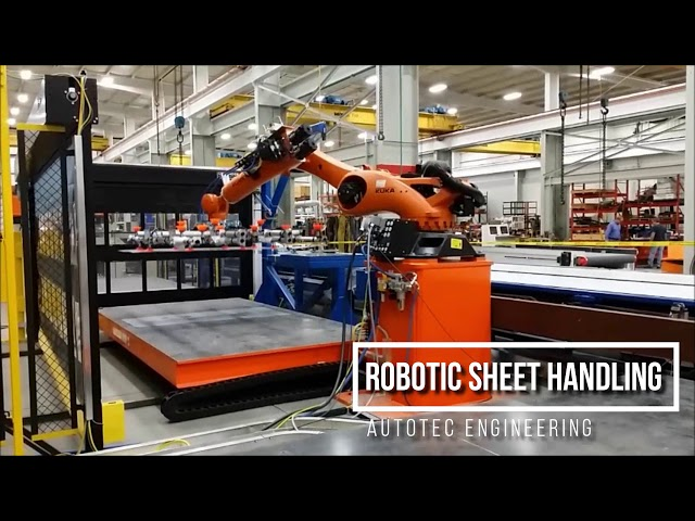 Robotic Sheet Handling | Autotec Solutions
