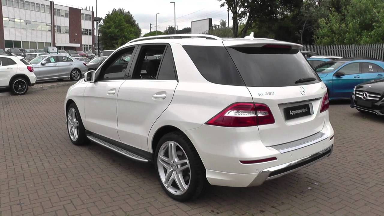 Benz Ml350 Price >> Mercedes-Benz M Class ML250 CDi BlueTEC AMG Sport 5dr Auto U23493 - YouTube