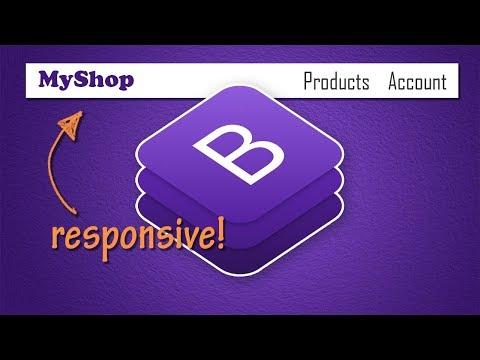 Bootstrap 4 Navbar Concepts   BOOTSTRAP 4 TUTORIAL
