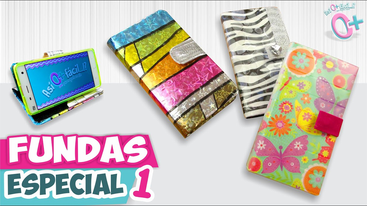 Fundas caseras para celular papel y hule especial 1 - Decorar funda movil ...