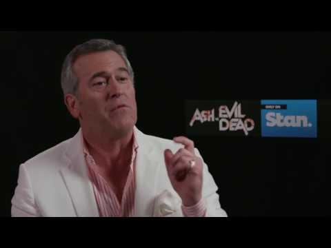 Bruce Campbell on Ted Raimi Chet in