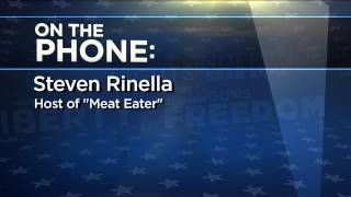 "Steven Rinella from ""Meat Eater"" on His Debate With a Vegan"