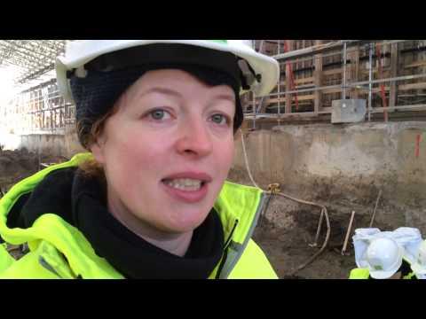 Gammel Strand Udgravninger februar 2014