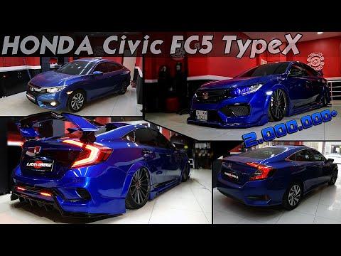 Honda Civic Fc5 | TypeX Body Kit \ Demon Eyes - Modifiye