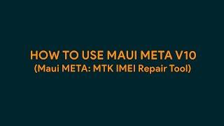 how To Use Maui META v10 - romshillzz