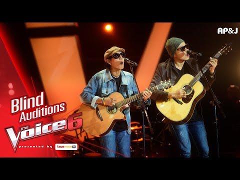 บัง+เขี้ยว - Mrs.Robinson - Blind Auditions - The Voice Thailand 6 - 19 Nov 2017