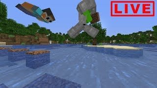 Dream - Minecraft Manhunt, But We Can't Stop Flying