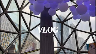 [Vlog] 홀리데이인수원 | 광교 갤러리아 | 다이슨…