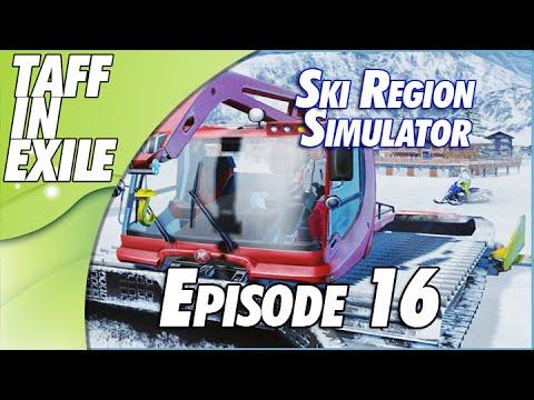 Ski Region Simulator - Dancing waiting for the Storm