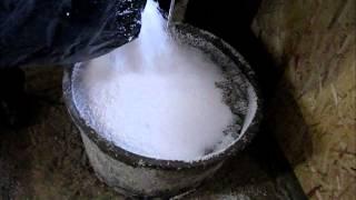 Приготовление полистирол бетона своими руками(Бютжетный вариант изготовления полистирол бетона, минимум оборудования, легкодоступные и недорогие компо..., 2014-01-25T17:02:42.000Z)
