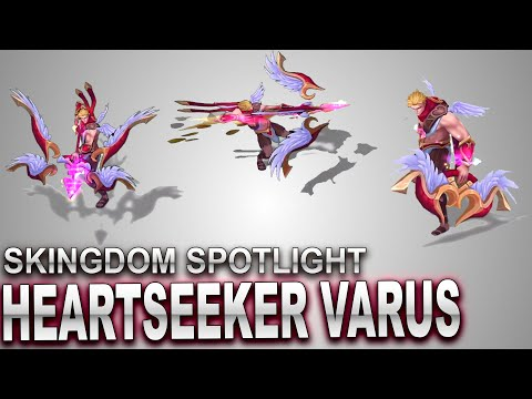 Heartseeker Varus Skin Spotlight | SKingdom - League of Legends